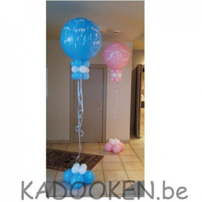 XXL geboorteballon -  It's a boy of it's a girl