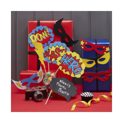 Superhero Party - Photo Booth Kit