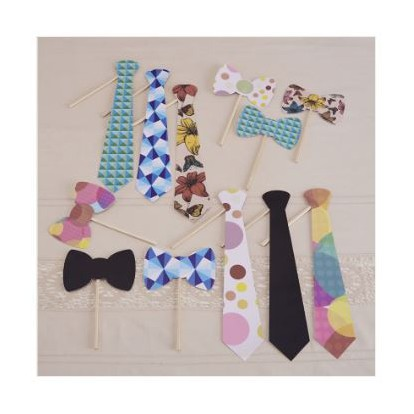 Ties & Bowties - Photo Booth Kit