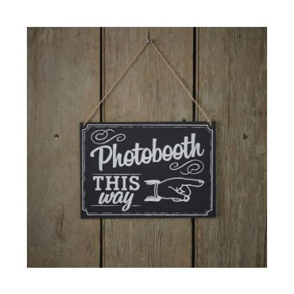 Photo Booth This Way - Bord