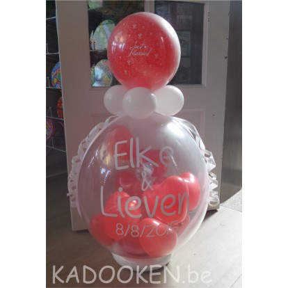 Geschenkballon Just Married