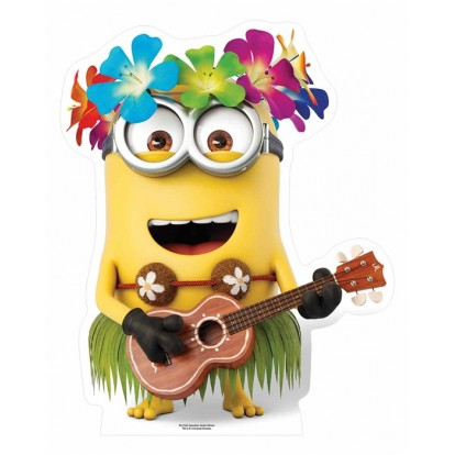 The Minions Hawaiian Guitar Dave Cutout - MINI