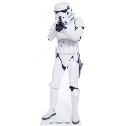 Star Wars - Stormtrooper Cutout - MINI