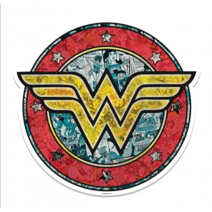 Wall Art - Kartonnen bord Wonder Woman Shield