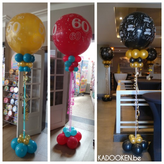 Ballondecoratie 'Happy Birthday'