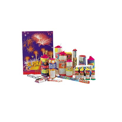 Vuurwerk - All For Fun - pakket