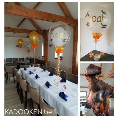 Zaaldecoratie Communie of Lentefeest